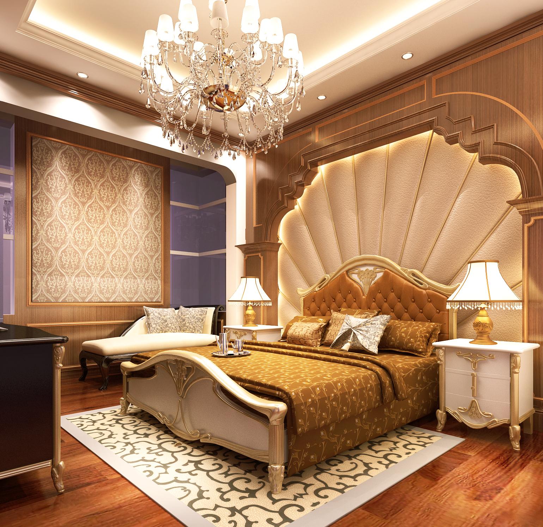 Mẫu thiết kế nội thất phòng ngủ phong cách tân cổ điển