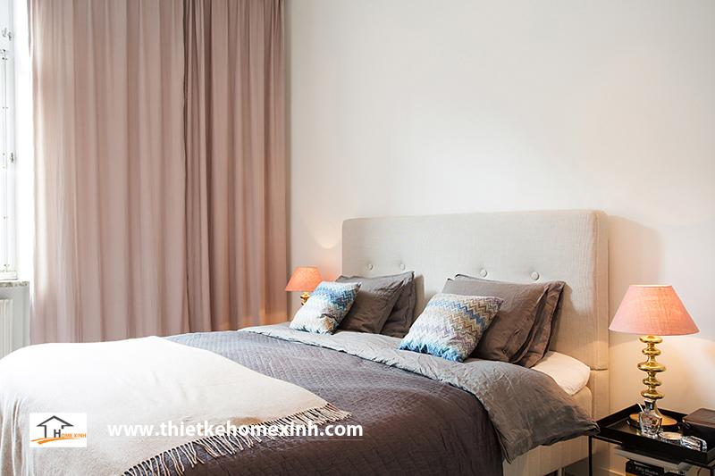 Hình 5: Thiết kế nội thất phòng ngủ biệt thự