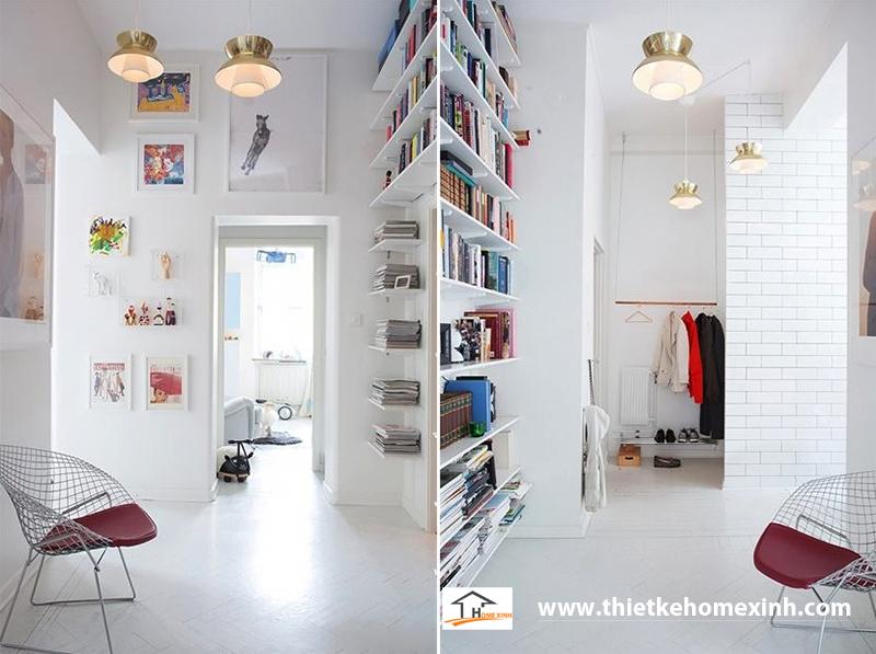 Hình 6: Thiết kế nội thất một góc nhỏ của căn biệt thự