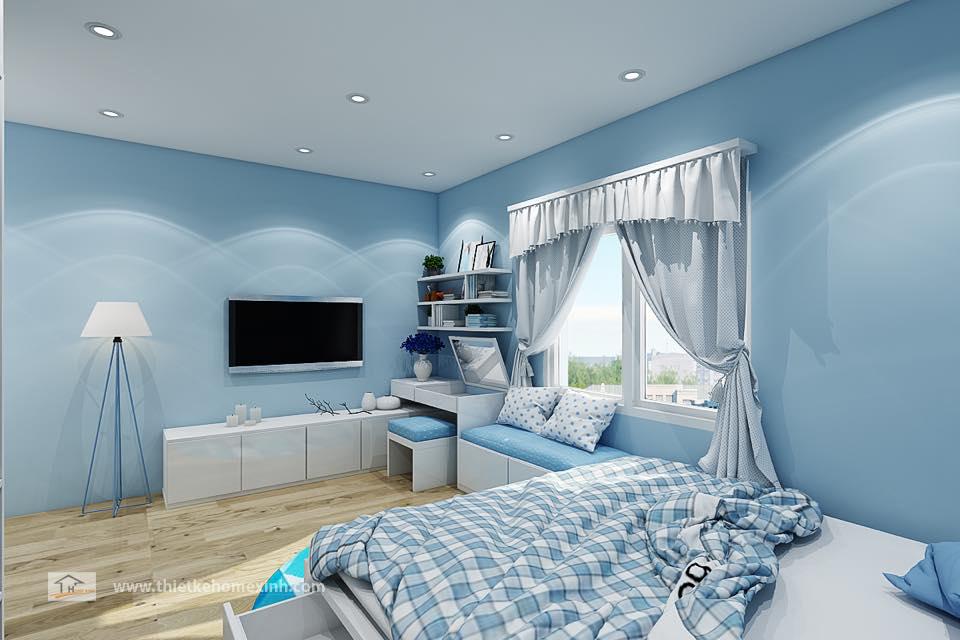 Hình 3: Thiết kế nội thất phòng ngủ