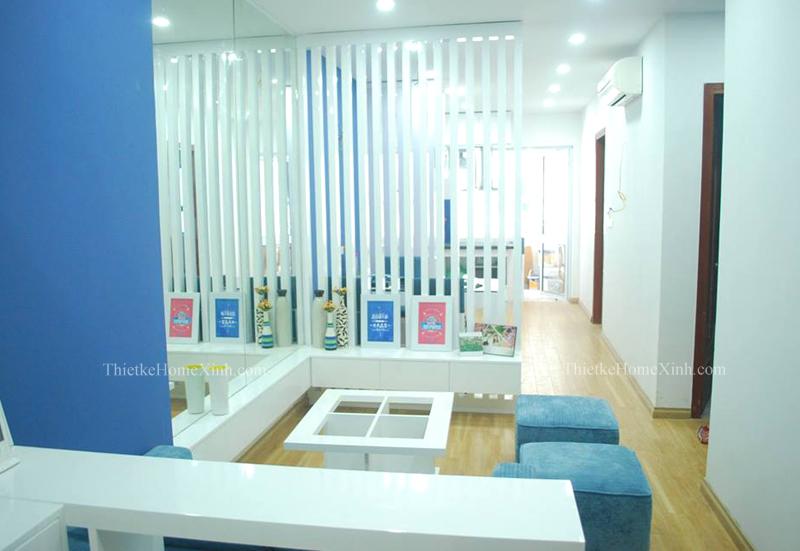 Hình 12: Thi công nội thất chung cư diện tích 65m2