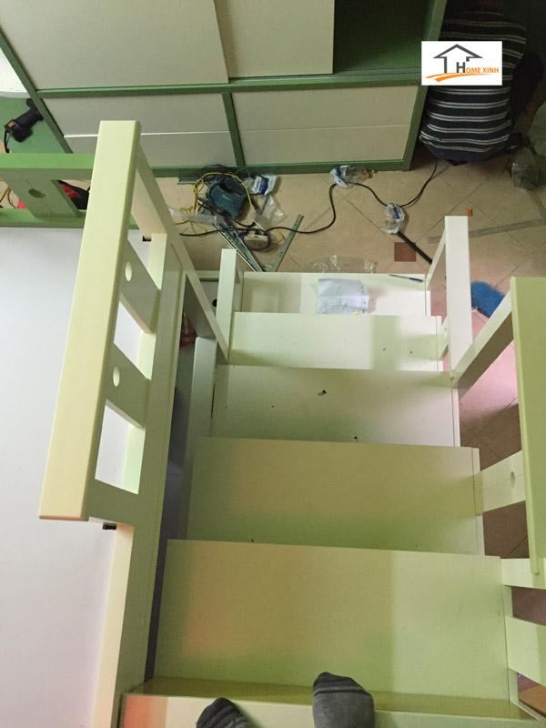 Thiết kế thi công nội thất phòng ngủ trẻ em 01