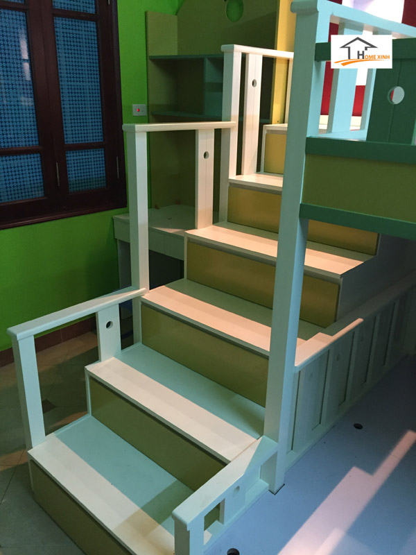 Thiết kế thi công nội thất phòng ngủ trẻ em 03