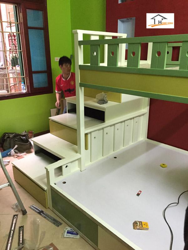 Thiết kế thi công nội thất phòng ngủ trẻ em 04