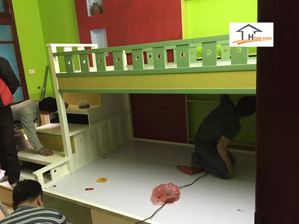 Thiết kế thi công nội thất phòng ngủ trẻ em 06