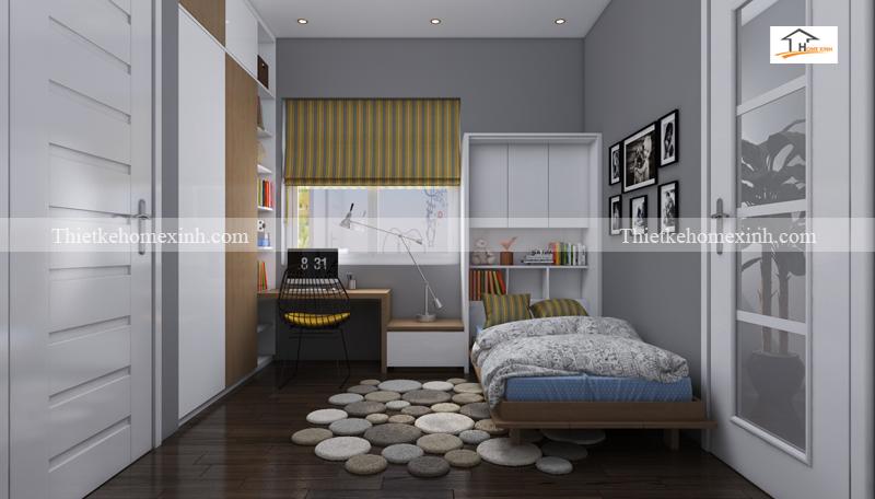 Thiết kế nội thất phòng ngủ nhỏ 10m2 - ảnh 1