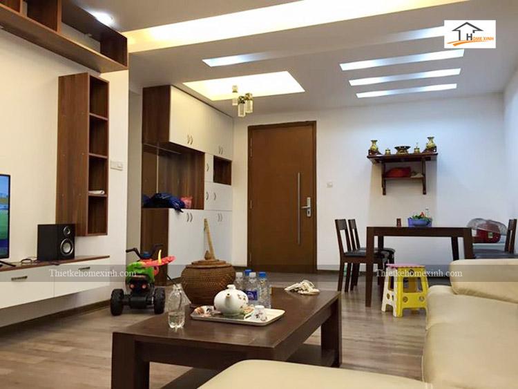 Ảnh 1: Thi công nội thất chung cư Hà Đông