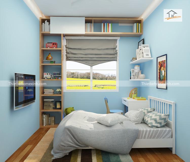 Thiết kế phòng ngủ trẻ em - chung cư gemek 02
