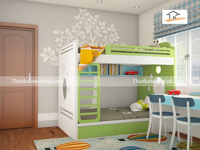 Thiết kế nội thất trẻ em giá rẻ tại Hà Nội 02