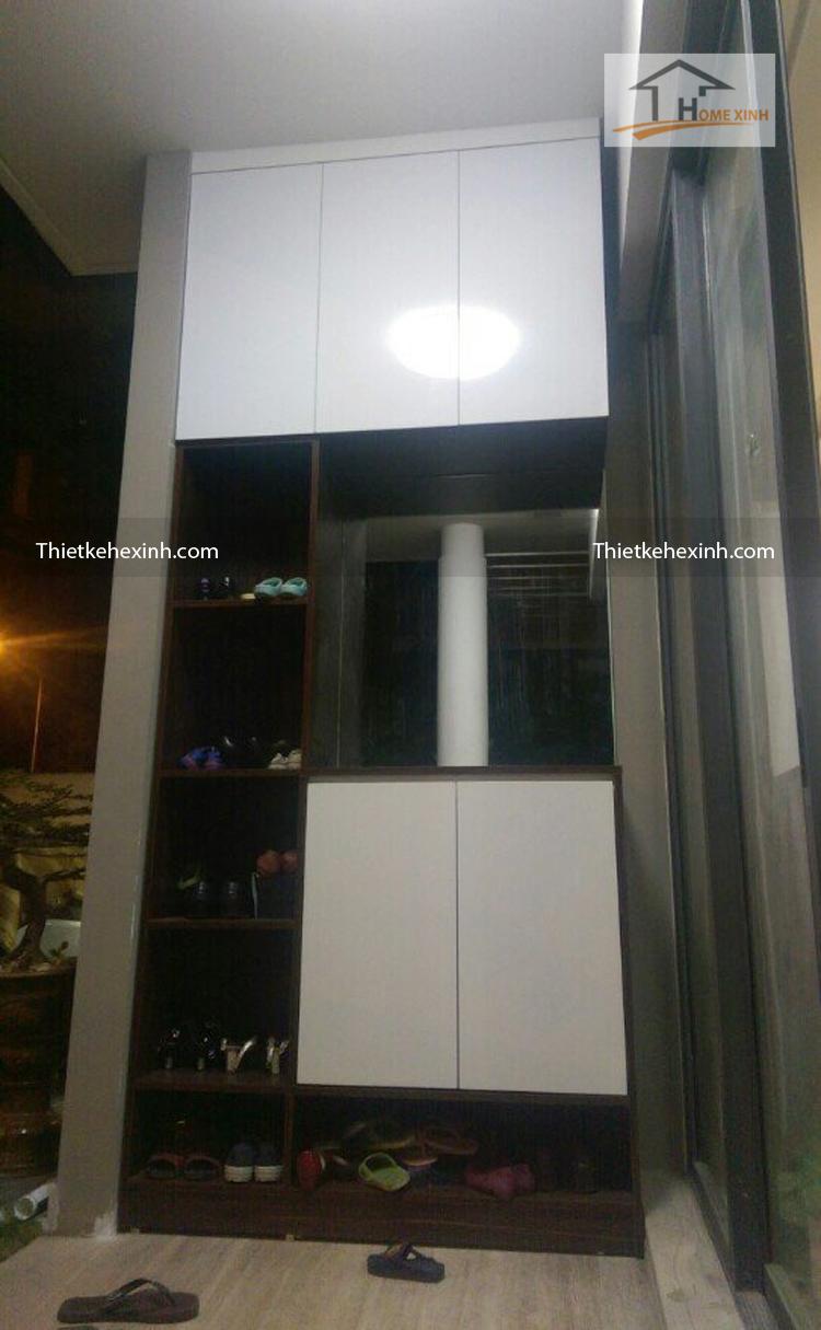 Hình ảnh 03: Thi nội thất nhà anh Cường - Hà Đông