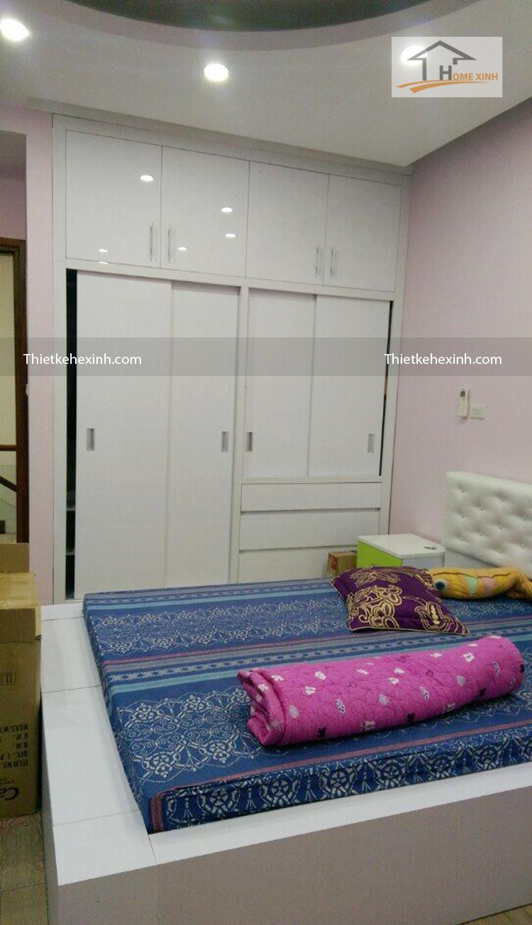 Hình ảnh 05: Thi nội thất nhà anh Cường - Hà Đông