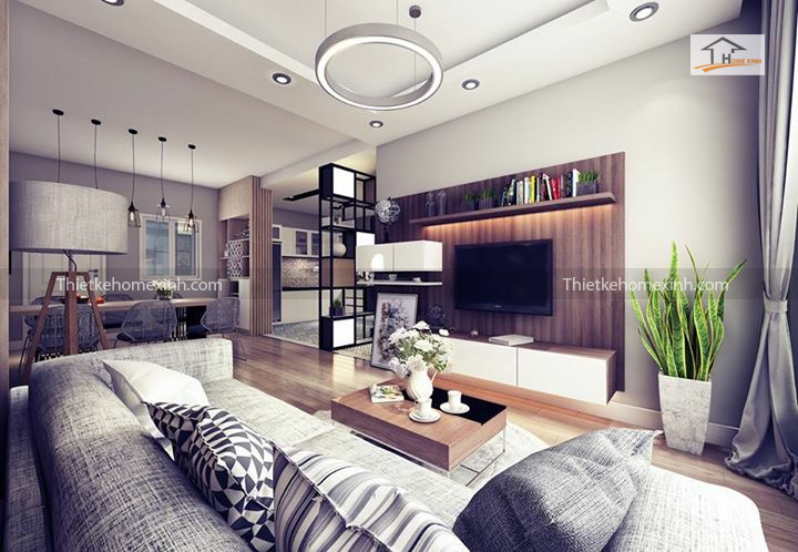 IMG 1242 - Cách trang trí nội thất phòng khách chung cư đẹp