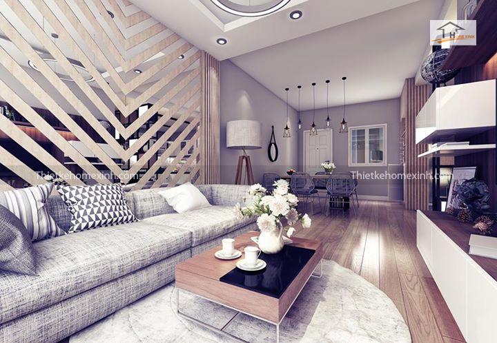 IMG 1243 - Cách trang trí nội thất phòng khách chung cư đẹp