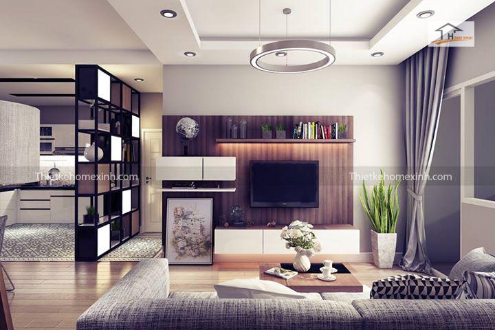 IMG 1244 - Cách trang trí nội thất phòng khách chung cư đẹp