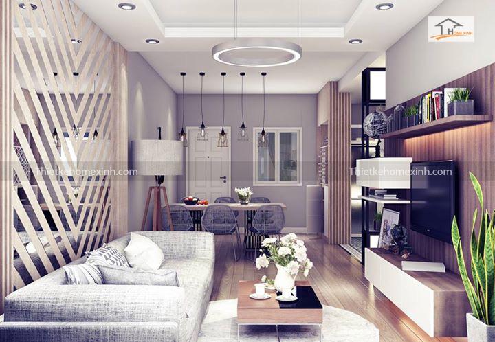 IMG 1245 - Cách trang trí nội thất phòng khách chung cư đẹp