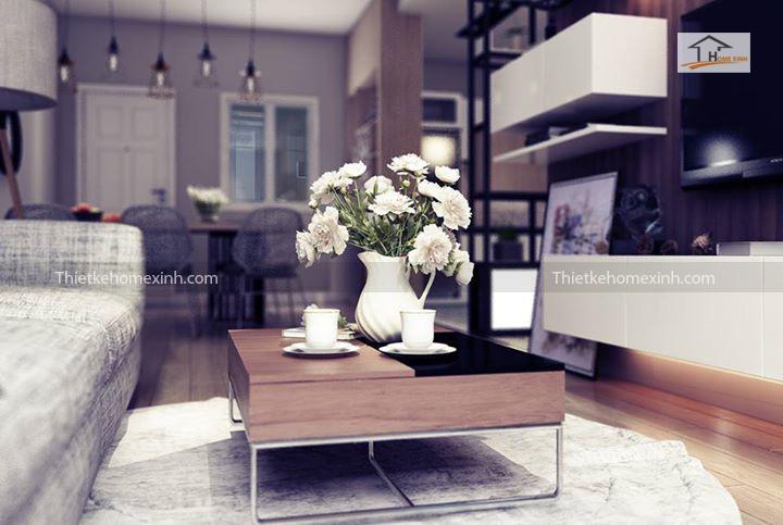 IMG 1246 - Cách trang trí nội thất phòng khách chung cư đẹp