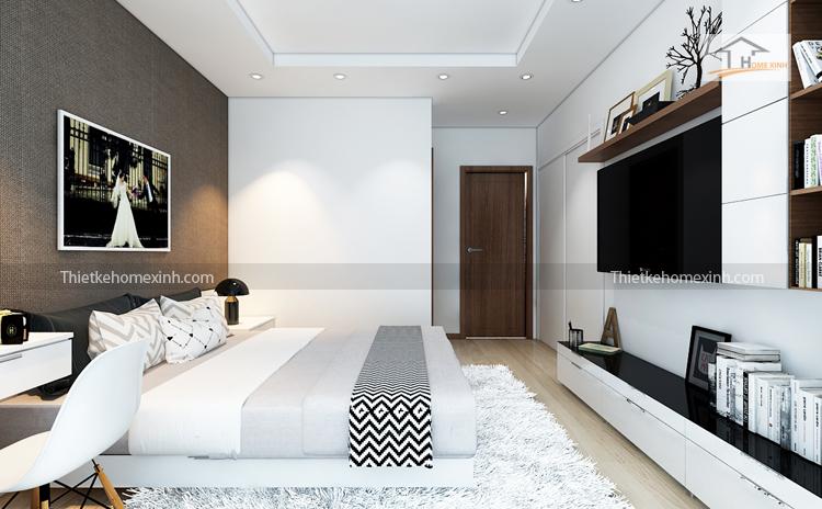 Ảnh 02: Thiết kế phòng ngủ R6 Royal city