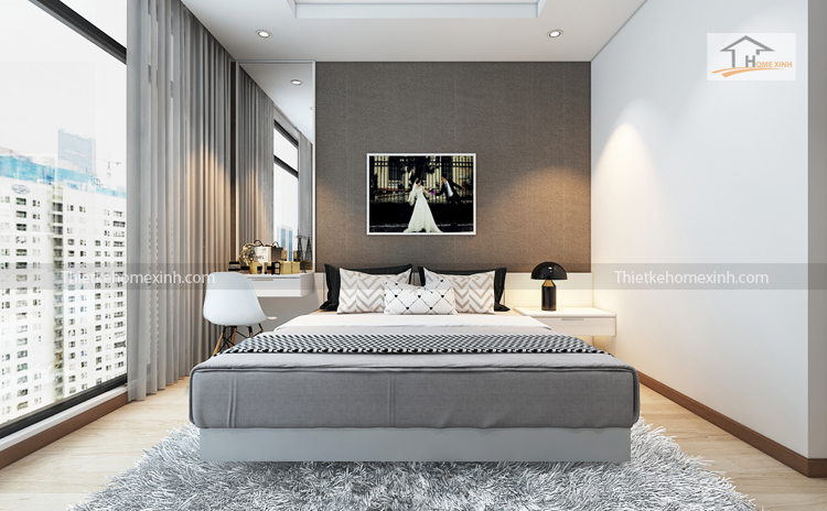 Ảnh 03: Nội thất phòng ngủ đẹp tại R6 Royal city