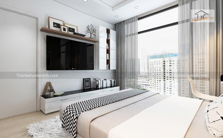 Ảnh 04: Thiết kế nội thất phòng ngủ - R6 Royal city