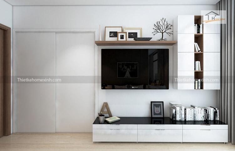 Ảnh 05: Thiết kế nội thất phòng ngủ - R6 Royal city