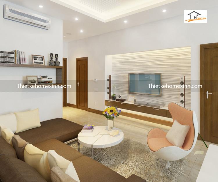 golden lande can ho 99m phong khach newspace 12 - Thiết kế nội thất phòng khách chung cư Golden-Lande
