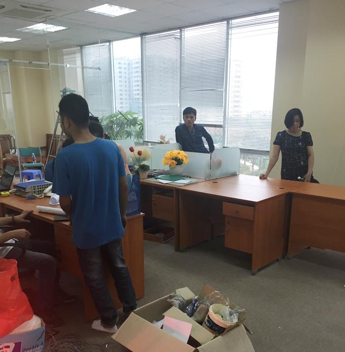 Ảnh 5: Thi công nội thất văn phòng cho công ty Bảo Lâm
