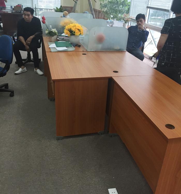 Ảnh 4: Thi công nội thất văn phòng cho công ty Bảo Lâm