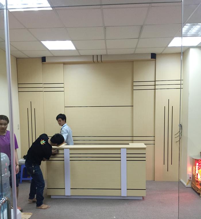 Ảnh 3: Thi công nội thất văn phòng cho công ty Bảo Lâm