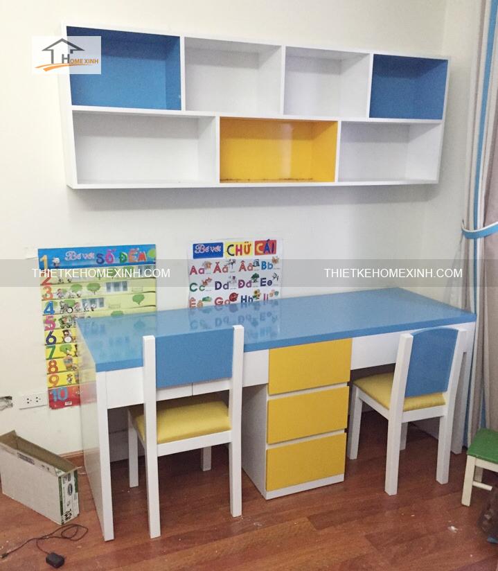Hình 1: Thi công nội thất trẻ em chung cư Hà Đông