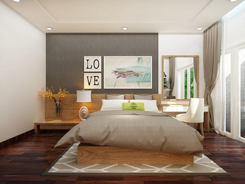 Tiết kiệm chi phí khi thiết kế nội thất phòng ngủ - HomeXinh
