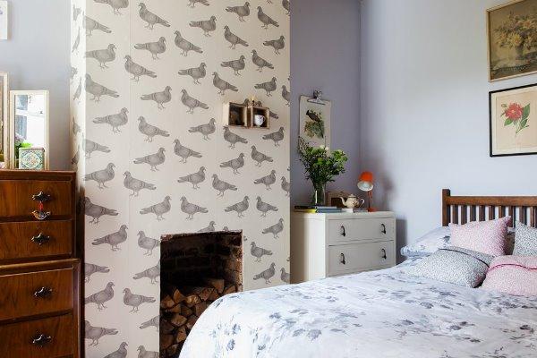 Phòng ngủ tuy nhỏ nhưng được sắp xếp hợp lý nên vẫn thoáng đãng và đủ sáng.