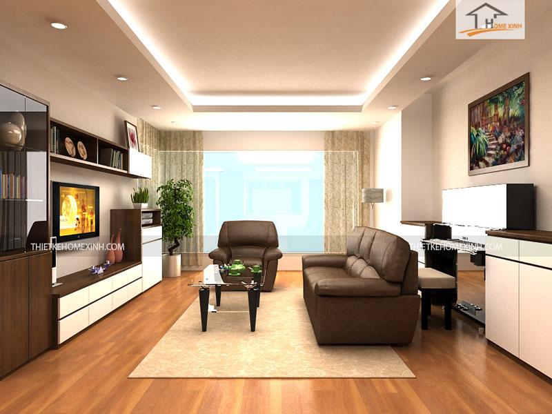 Cách thiết kế nội thất phòng khách đơn giản