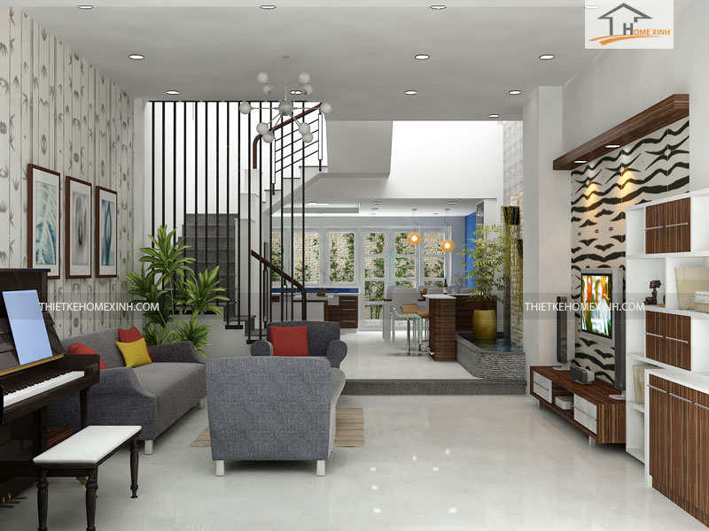 noi that phong khach dep 4 - Các mẫu nội thất phòng khách đơn giản hiện đại