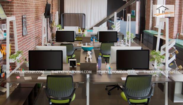 thiết kế nội thất văn phòng - thiết kế home xinh