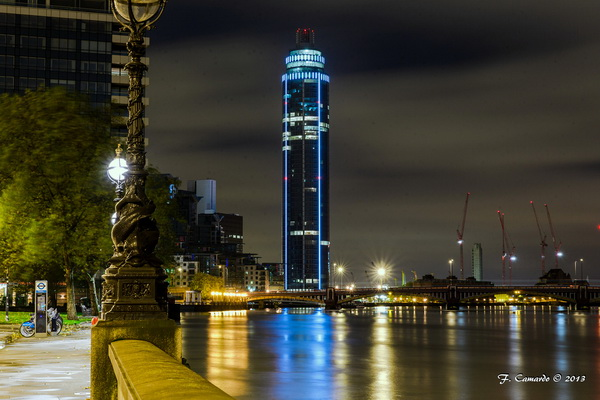 công trình St George Wharf Tower