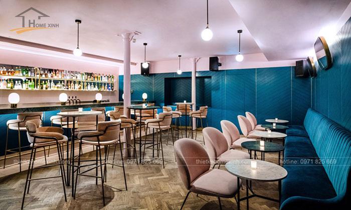 Ánh sáng trong thiết kế nội thất nhà hàng