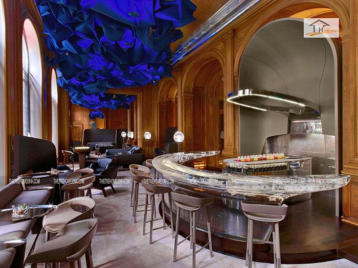 thiết kế nội thất nhà hàng hiện đại
