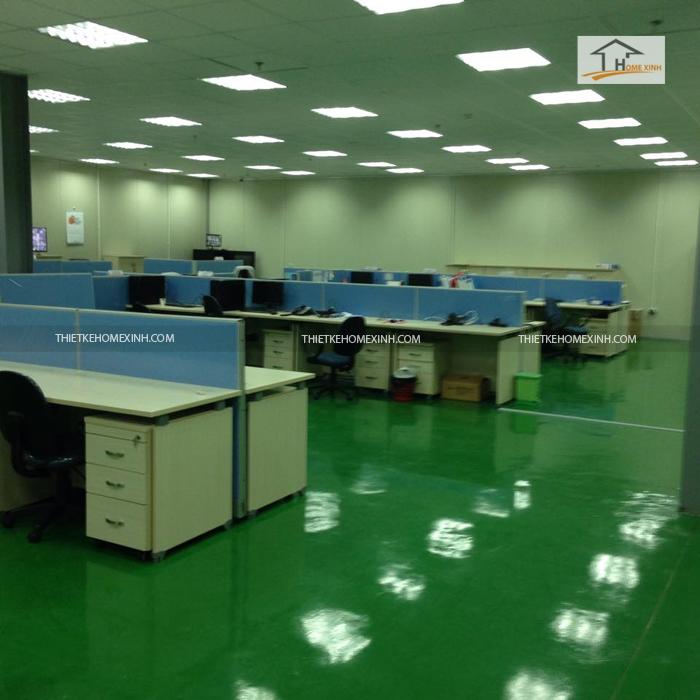 Thi công văn phòng tại Bắc Ninh