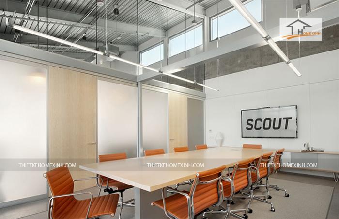 Hình 2: Thiết kế nội thất văn phòng hiện đại 2016