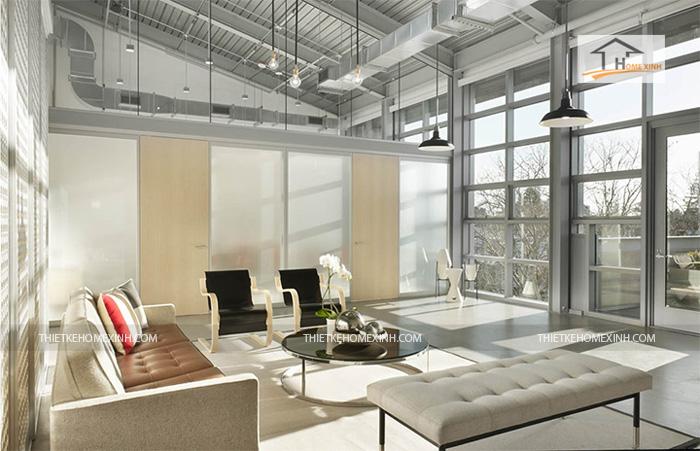 Hình 3: Thiết kế nội thất văn phòng hiện đại 2016