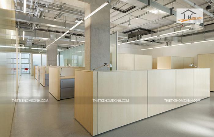 Hình 4: Thiết kế nội thất văn phòng hiện đại 2016