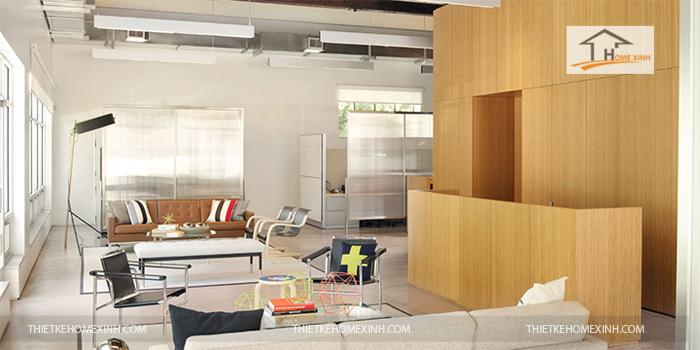 Hình 7: Thiết kế nội thất văn phòng hiện đại 2016