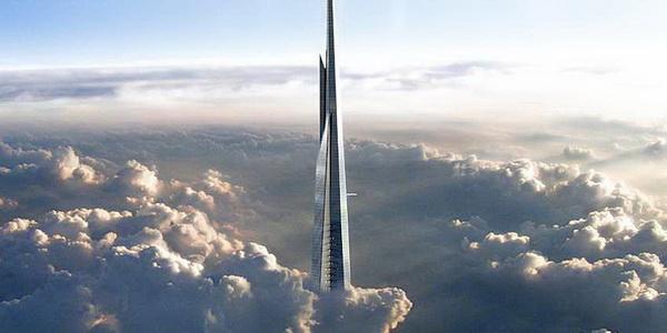 Kingdom Tower (Ả rập Xê út) là tòa nhà cao nhất thế giới trong tương lai