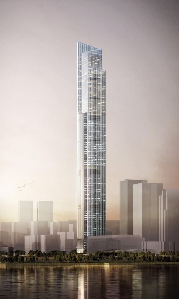 CTF sẽ là tòa nhà cao thứ 9 trên thế giới trong tương lai