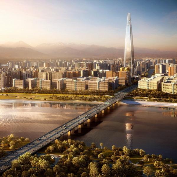 Tháp Lotte World sẽ là tòa nhà cao thứ 7 thế giới trong tương lai