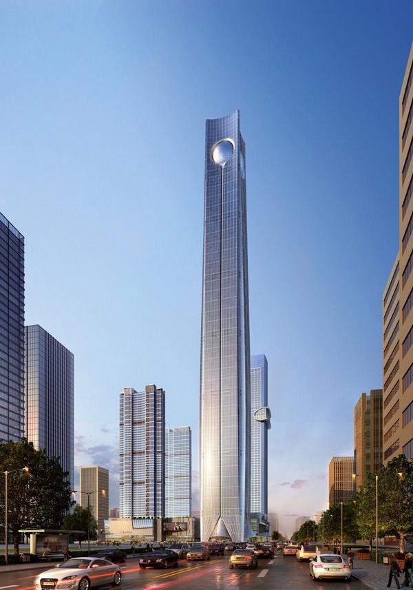 Pearl of the North (Thẩm Dương, Trung Quốc) cao 568m với 113 tầng
