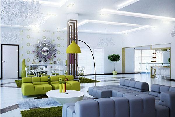 Những lưu ý khi thiết kế phòng khách hiện đại - 224084