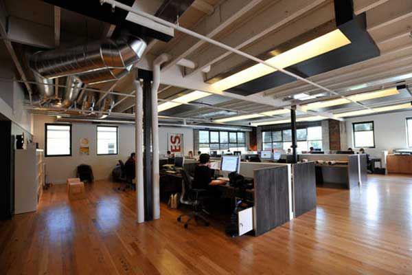 Thiết kế văn phòng hiện đại, đơn giản