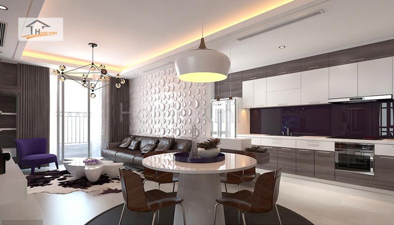 thiet ke noi that phong khach cao cap 04 - Mẫu phòng khách đẹp, hiện đại cho chung cư cao cấp