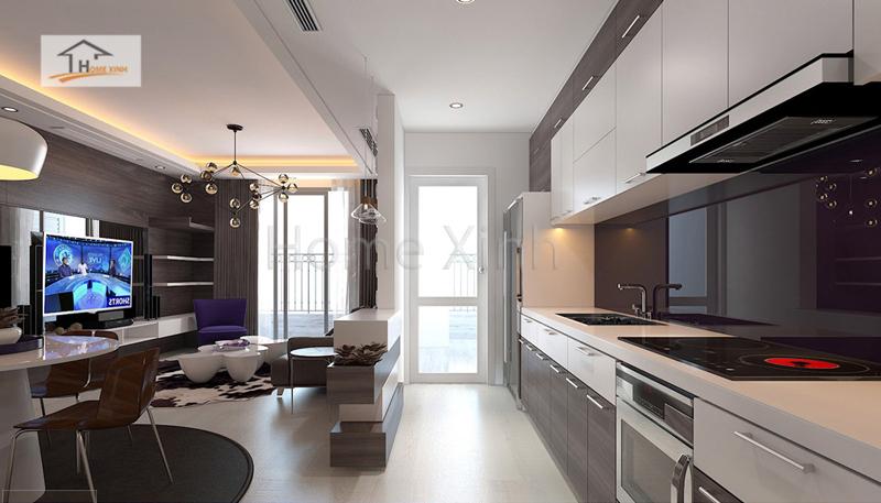 thiet ke noi that phong khach cao cap 05 - Mẫu phòng khách đẹp, hiện đại cho chung cư cao cấp